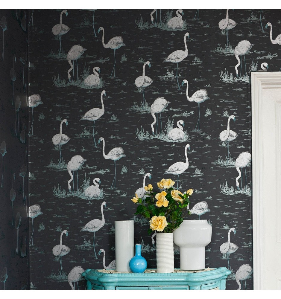 Cole and Son The Contemporary Collection Flamingos