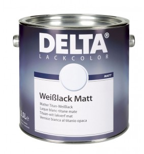 Delta Weisslack Matt BLANC
