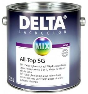 Delta All-Top Satin BLANC