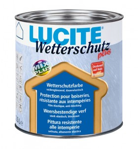 Lucite Wetterschutz TEINTE