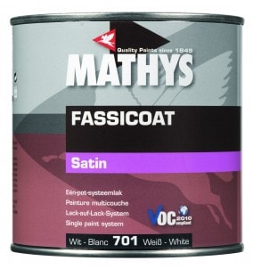 Mathys Fassicoat BLANC