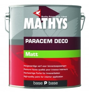 Mathys Paracem Deco Matt TEINTE Mix