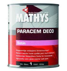 Mathys Paracem Deco Satin TEINTE Mix